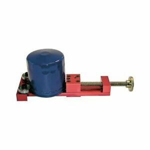 Proform Parts Oil Filter Cutter Aluminum With Steel Threaded Shaft Red Anodized