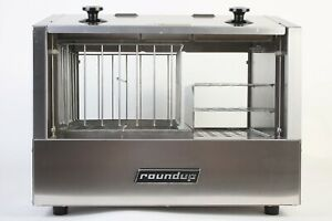 Roundup Hot Dog Hutch Hdh 3 120v Stainless Steel A j Antunes 33 Hot Dogs 20 Bun