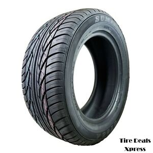 4 four New 225 55r16 Sumic Gt a 95h Bsw 2255516 Tire Pn 5514044