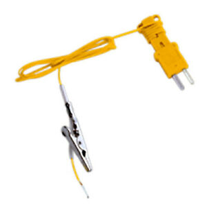 Fieldpiece Ata1 K type Thermocouple With Alligator Clip 50 To 400f