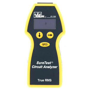 Ideal Electrical 61 164 Suretest Circuit Analyzer