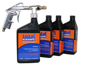 Water Based Undercoating Kit Includes Spray Gun For Automotive Undercoating