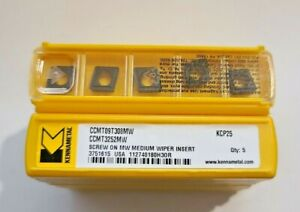 Ccmt 3252mw 32 52 Kcp25 Kennametal 10 Inserts Factory Pack
