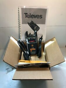 Iob Televes H30d3 Catv Cable Signal Meter Docsis 3 0 Manual chargers Fast Ship