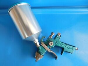 Used Sata Jet Nr95 Hvlp Spray Gun With Cup 1 4 Tip Made In Germany