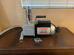 Ai Easyvac 9 Cfm 2 stage Vacuum Pump W Mist Filter Fittings For Vacuum Oven