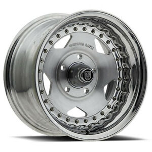 Centerline 000 Convo Pro 15x10 5x4 75 Offset 12 Polished Brush Face Qty Of 4