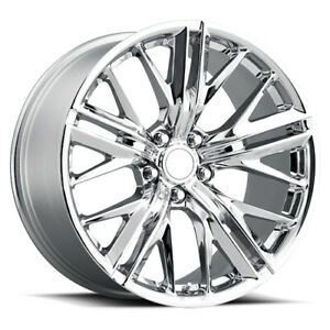 Factory Reproductions Fr 28 Zl1 Camaro Rim 20x9 5x120 Offset 25 Chrm Qty Of 4