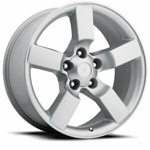 Factory Reproductions Fr 50 Ford Lightning 20x9 5x135 Offset 8 Slvr Qty Of 4