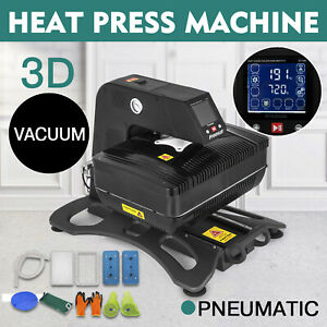 3d Sublimation Vacuum Heat Press Machine T shirt Drawer Design Transfer Hot