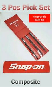 Snap On Tools 3 Pc Pick Set Specialty Composite Material New Ppk300
