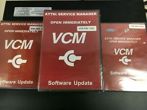 Sealed Vcm Software Updates Dvd 1 Ea Ford 2007 3 5 Ea 2006 1 1 Ea 2004 10