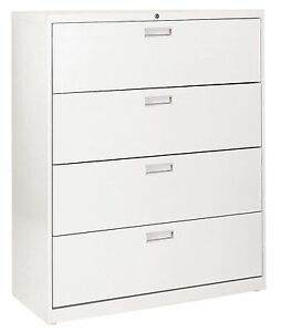 Hon 600 Series 4 Drawer Lateral File