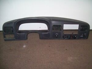 2005 2007 Ford Superduty Speedometer Dash Instrument Gauge Cluster Trim Bezel
