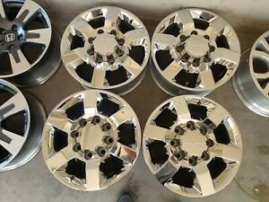 2011 2019 18 Gmc Denali Sierra Chevy Silverado 2500 Hd Oem Factory Wheels Rims