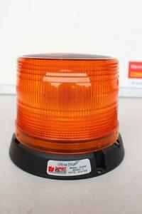 Federal Signal Ultrastar Amber Class 1 Led Beacon For Truck Permanent pipe Mount