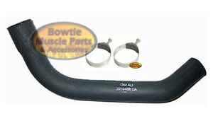 69 72 Chevelle 307 327 350 Lower Radiator Hose W Tower Clamps Oe Coreect 3959488