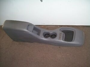 1994 Chevy S10 Center Console Arm Rest Lid Top Pad Gray