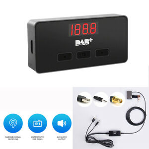 Dab Radio Signal Receiver Antenna Aux Connection For Car Audio Android Player