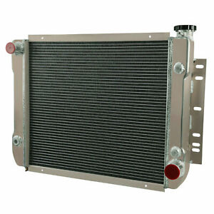 Aluminum Radiator For 59 70 Chevy Bel Air Impala Biscayne 23 Core Width