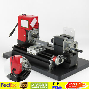 Metal Wood Working Lathe Motorized Machine Diy Tool Metal Diy Hobby Model Making