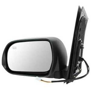 Power Heated Ptm Left Driver lh Side View Mirror Fits 2011 2012 Toyota Sienna