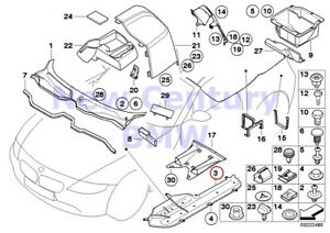 Bmw Genuine Various Body Parts Channel Cover E85 E86