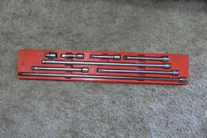 Snap on 8 Piece 3 8 Drive Extension Set 1 Inch 24 Inches 208afx