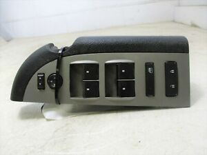 2008 2013 Chevrolet Silverado 1500 Drivers Master Window Switch Oem