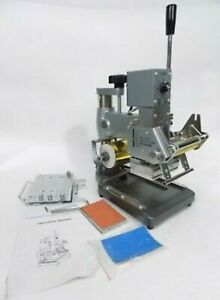 Silver Hot Foil Feed Stamping Machine Stamp Pvc Tj 90a All purpose