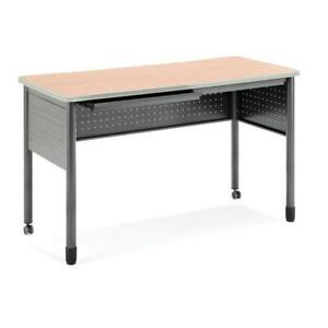 Ofm Mesa Series Model 66141 Standing Height Training Table And Desk With