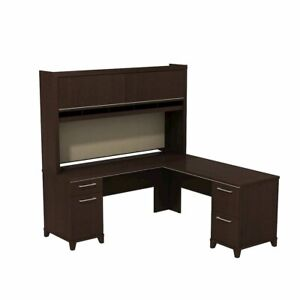 Enterprise 72w X 72d L Shaped Desk With Hutch