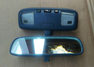 Rearview Mirror With Map Light 89 95 Toyota Pickup 90 95 4runner Dome Light Gray