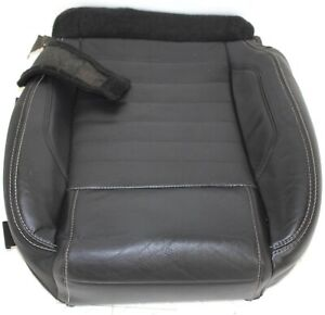 2005 2009 Ford Mustang Driver Side Seat Cushion Black Leather