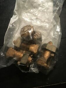 Lot Of 4 Burndy Ks29 101380 Wire Connector