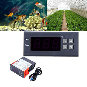 12v Digital Temperature Controller Thermostat W ntc For Greenhouse Aquarium