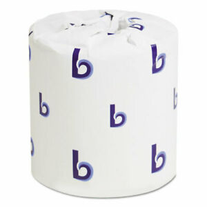 Two ply Toilet Tissue White 4 1 2 X 3 Sheet 500 Sheets roll 96 Rolls carton