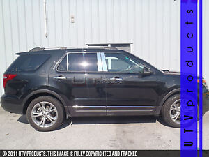 Gtg 2011 2018 Ford Explorer With Keyless 6pc Chrome Stainless Steel Pillars