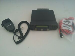 Motorola Cdm1250 Vhf 45 Watts 64 Ch 136 174 Mhz With Mic And Power Cable