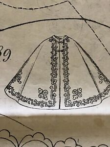 March 1862 Sewing Patterns For Doll And Ladies Tracings