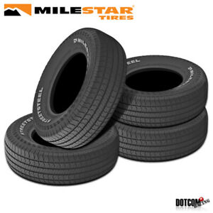 4 X New Milestar Streetsteel 245 60r15 100t Track Competition Tire