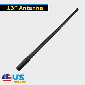 Fit For Gmc Sierra 1500 1985 2018 13inch Antenna Power Aerial Auto Rubber Am Fm