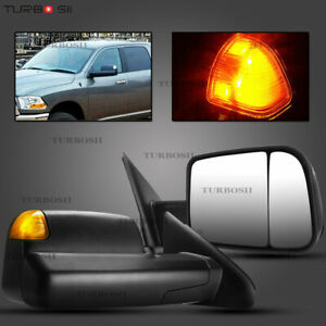 2009 Style Fit 02 08 Dodge Ram 1500 03 2500 3500 Heated Tow Mirrors Signal