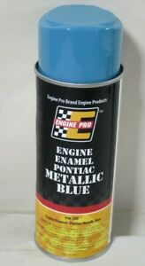 Engine Pro 46 389 Engine Enamel Paint Pontiac Metallic Blue 12 Oz Can