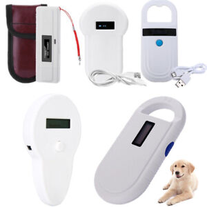 1pcs Rfid Reader Iso Fdx a Fdx b Animal Chip Dog Pet Microchip Scanner 134 2khz