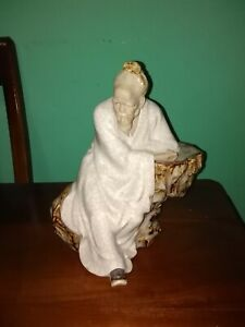 Antique Chinese Porcelain Inmortal Figurine P R O Ch