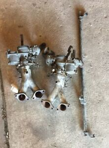 Porsche 914 Vw Bus Dual Solex 32 34 Carbs Pdsit 2 Pdsit 3 And Manifolds