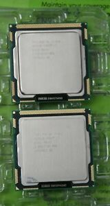 Lot Of Intel Core I7 870 860 Cpu Processor Lga1156