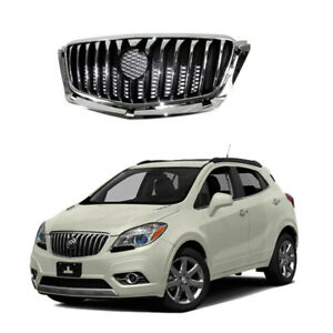 For 2013 2016 Buick Encore Front Upper Bumper Grille Grill Replacement Chrome