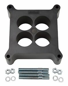 Edelbrock 8713 Carb Spacer Phenolic Square bore 2 Thick
